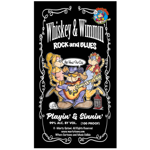 Whisky & Wimmin' inspired iconic Blues songs and Imagery, Wallpaper design for Mobile Devices.