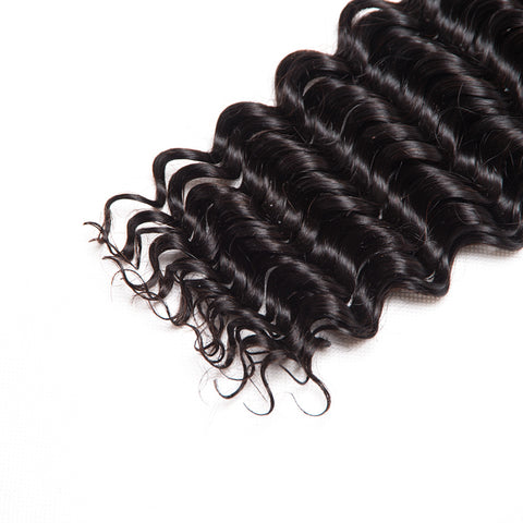 10A Human Hair Weave Virgin Remy Deep Wave