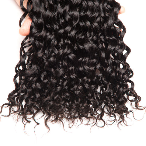 8A Human Hair Weave Remy Water Wave
