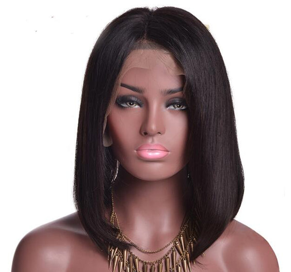 BoB Lace Front Wigs mid-part
