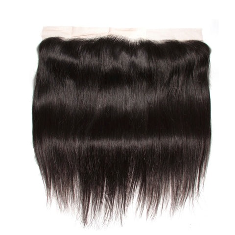 13x4 Human Hair Frontal Closure Straight