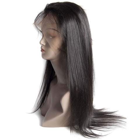 360 Degree Human Hair Frontal Closure Straight