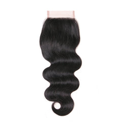 4x4 Human Hair Lace Closure Body Wave