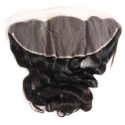 13x4 Human Hair Frontal Closure Loose Wave