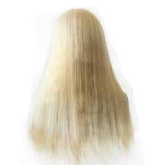 Full Lace Human Hair Wigs Straight 613#