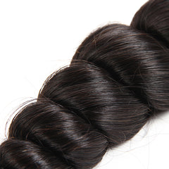 8A Human Hair Weave Remy Loose Wave