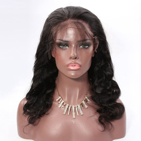 Lace Front Human Hair Wigs Body Wave