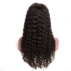 Full Lace Human Hair Wigs Deep Wave