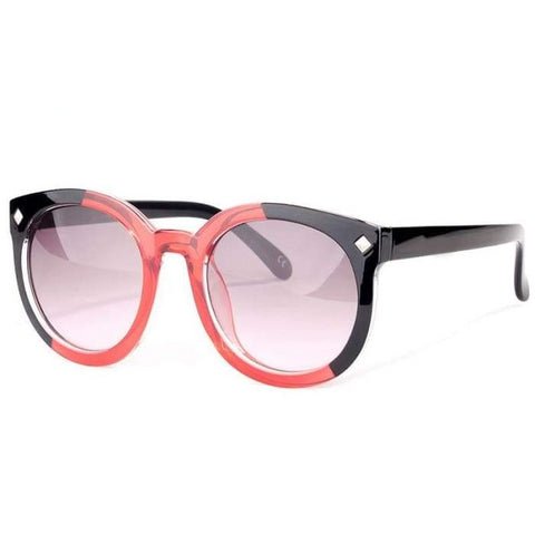 EyeCandy COLOSSEIN Round UV400 Fashion Sunglasses for Women - Sunglasses