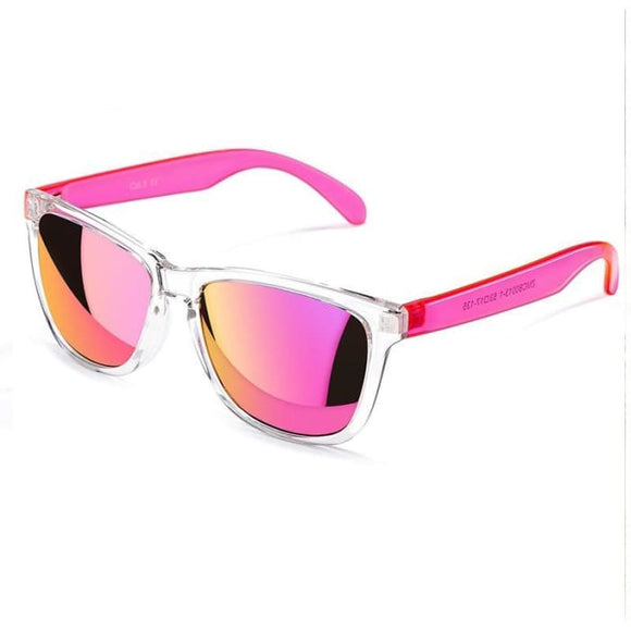 Funky Pazazz COLOSSEIN UV400 Multi-color Fashion Mirror Sunglasses for Women - Sunglasses