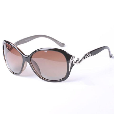 Lady Grace Polarized Rhinestone Fashion Sunglasses for Women - Sunglasses