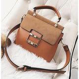ZMQN The Stylistic Vintage Leather Crossbody Shoulder Womens Handbag - Handbag