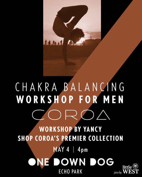 Coroa Yoga Chakra Balancing Workshop for Men