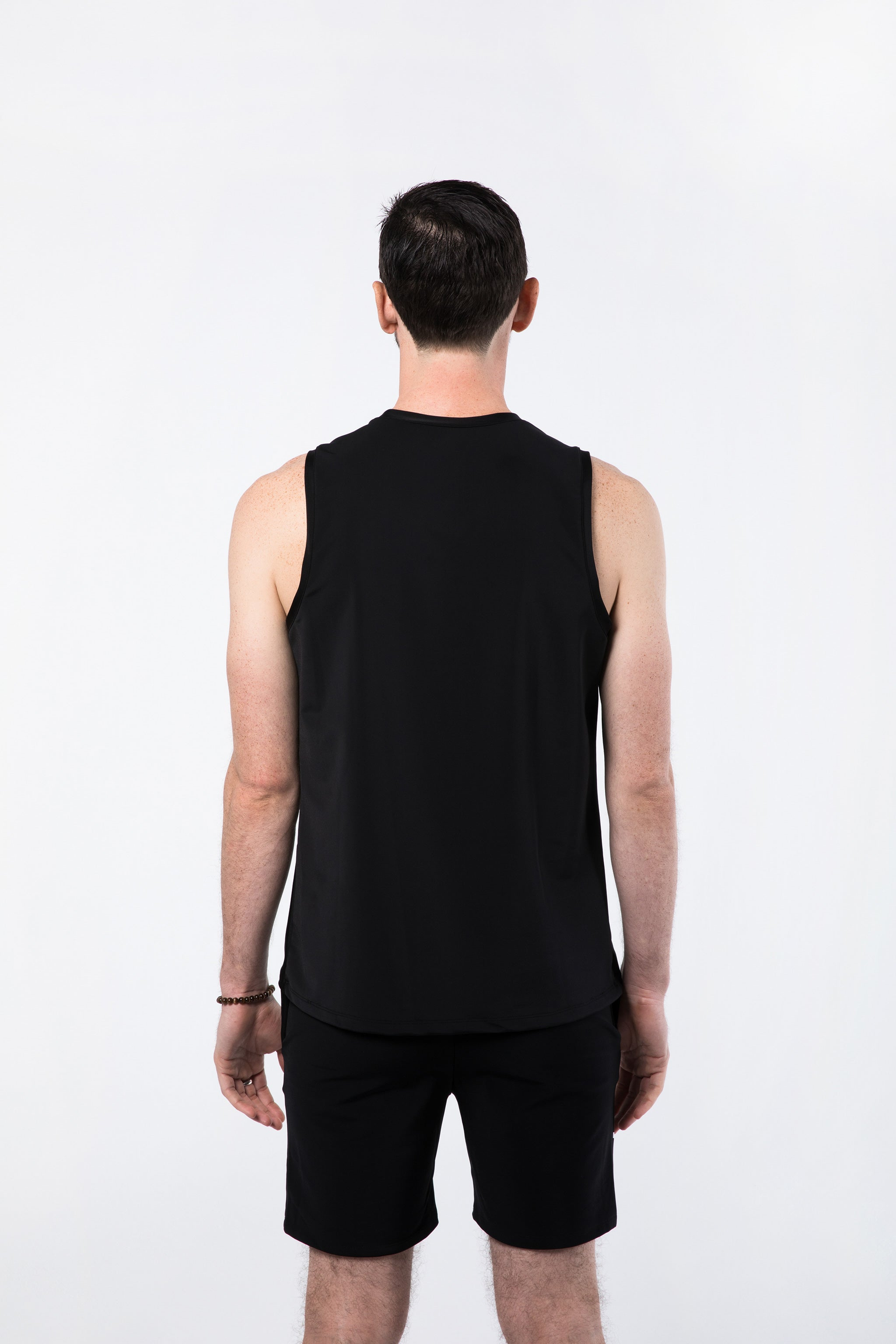 Yoga Muscle Shirt for Men (Back View)