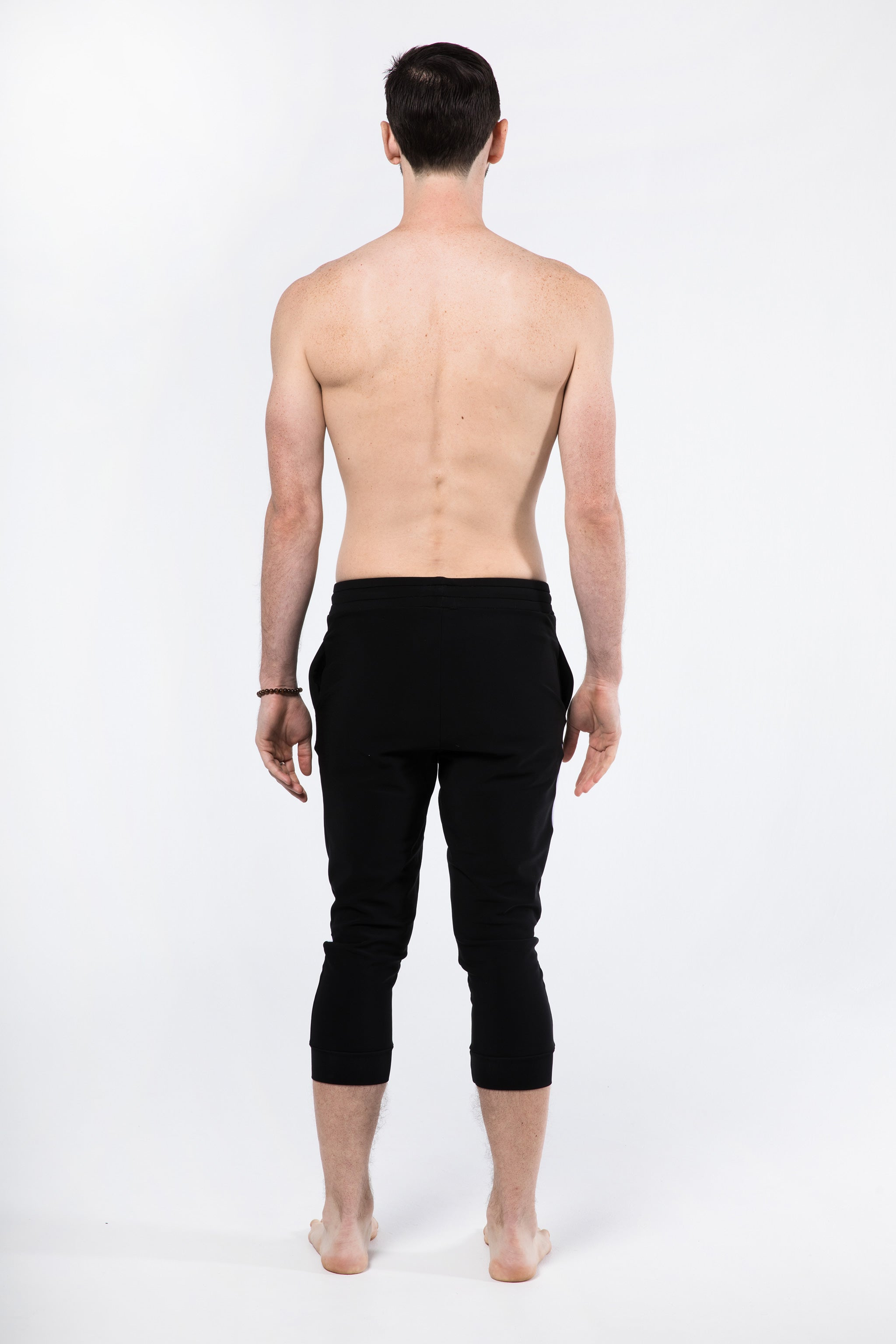 Yoga Pants for Men - Rear View