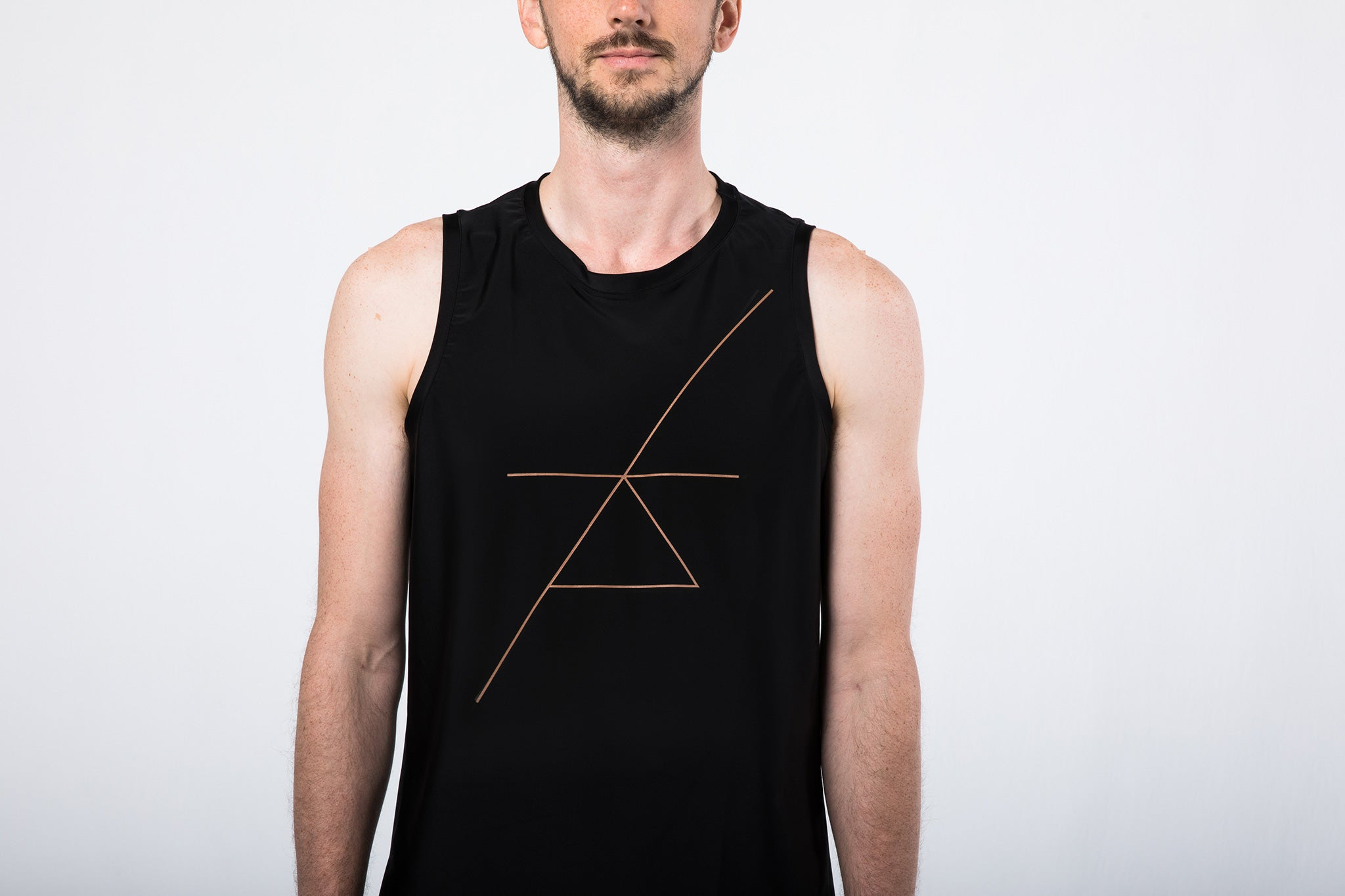 Sleeveless Yoga Shirt for Men