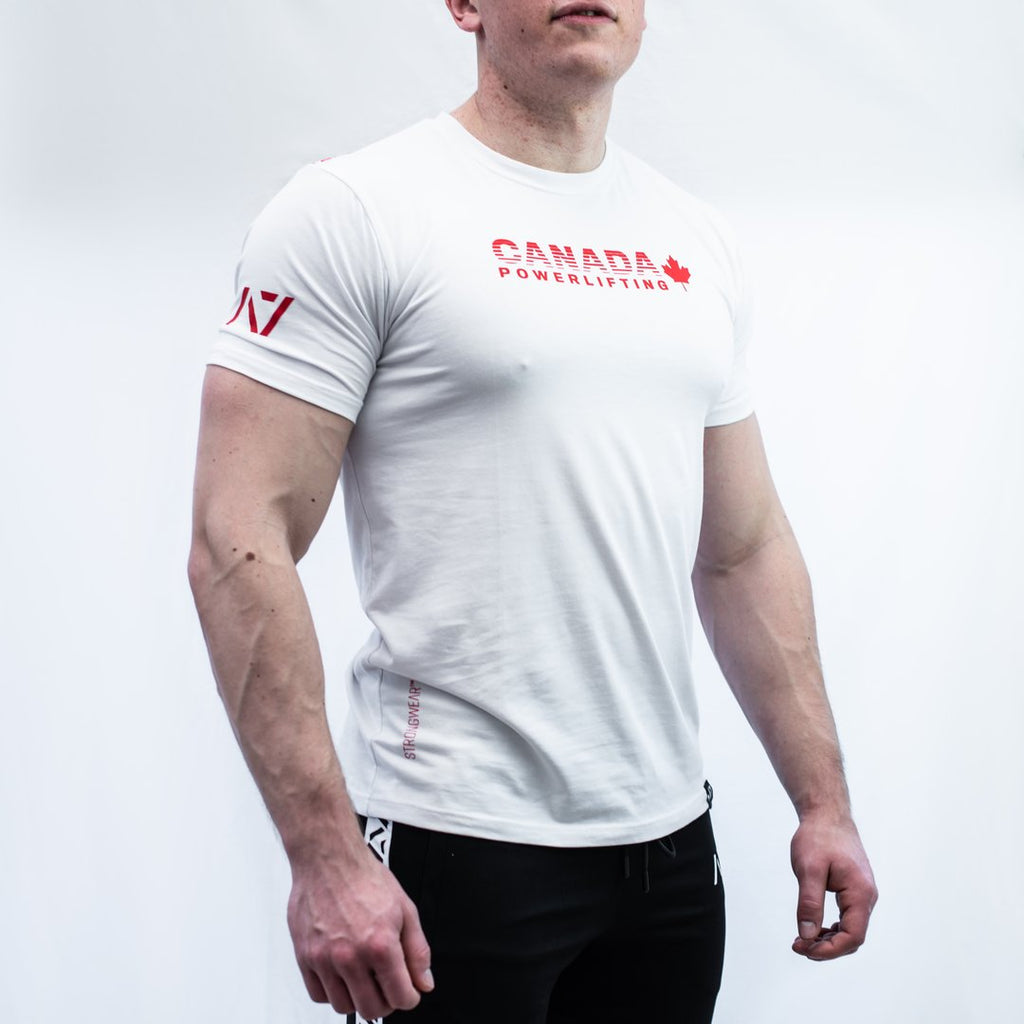 A7 Bar Grip Tシャツ『Canada Powerlifting』 Men's - A7 Japan