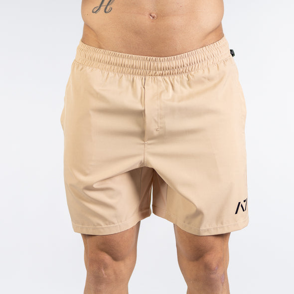 A7 Center-stretch スクワットショーツ  Men's(Khaki) - A7 Japan