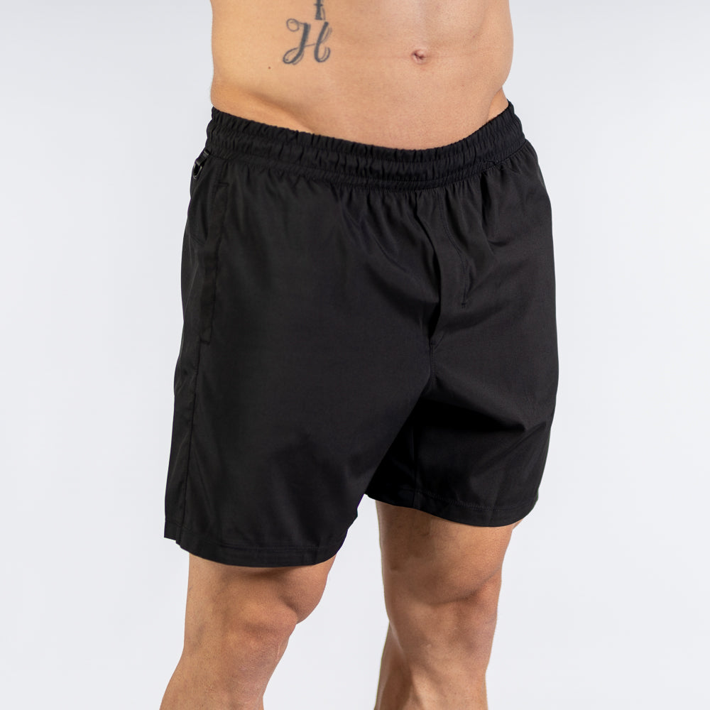 A7 Center-stretch スクワットショーツ  Men's(Black) - A7 Japan