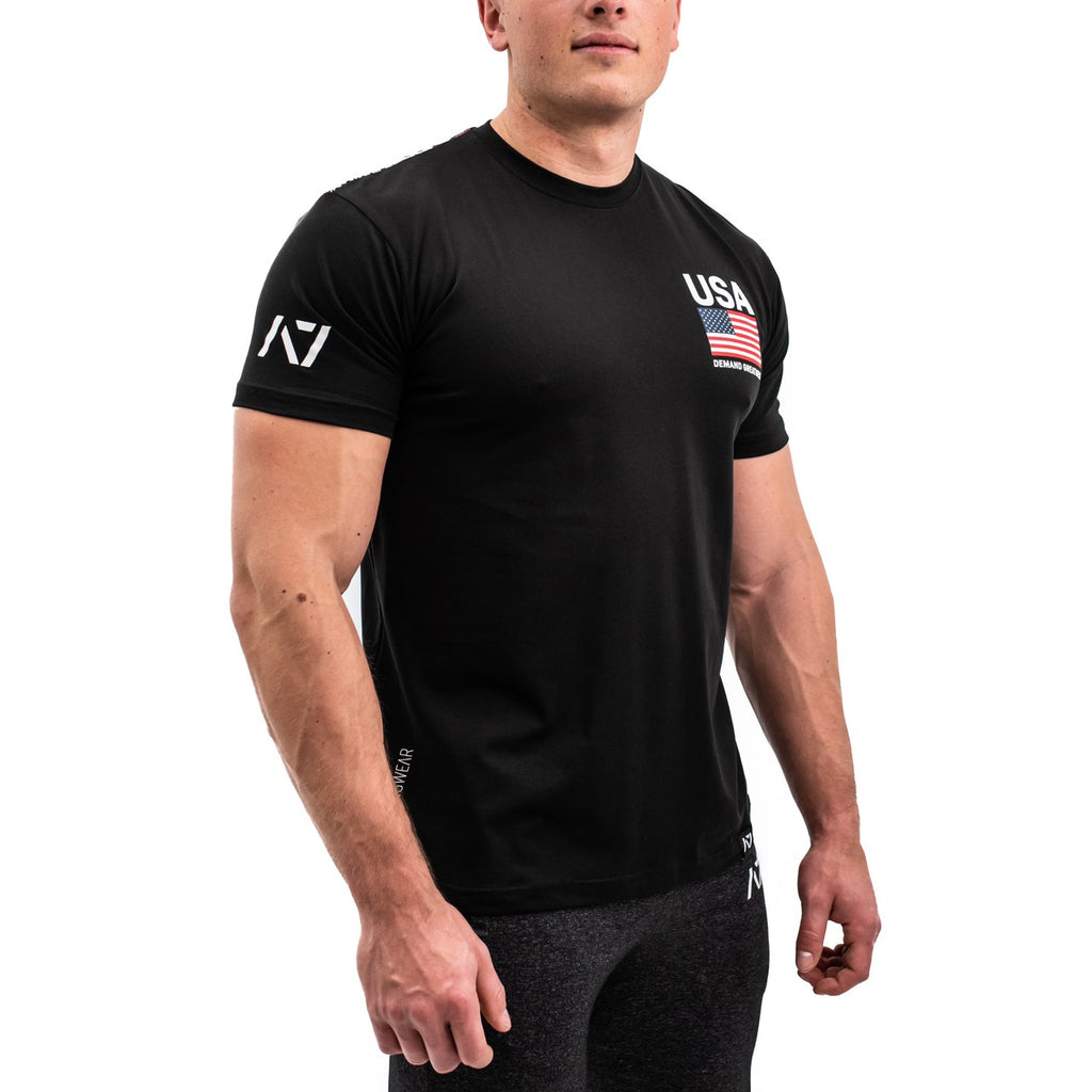 A7 Bar Grip Tシャツ『PATRIOT』 Men's - A7 Japan