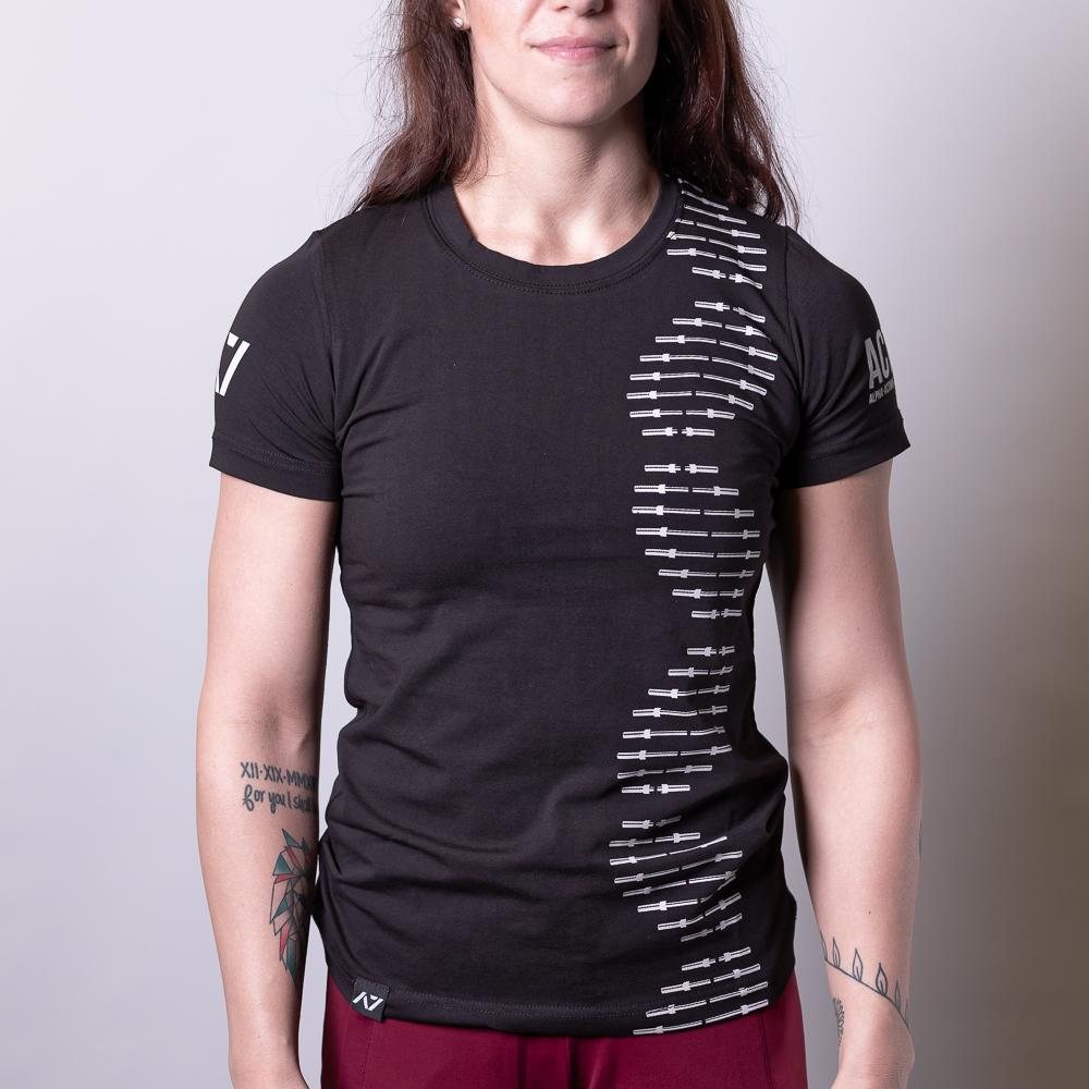 A7 Bar Grip Tシャツ『Barbell DNA』 Women's - A7 Japan