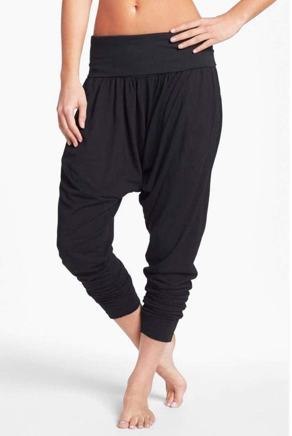 Hard Tail Rolldown Harem Pant