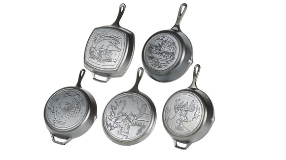 Lodge Seasoned Cast Iron Cookware - Wildlife Set