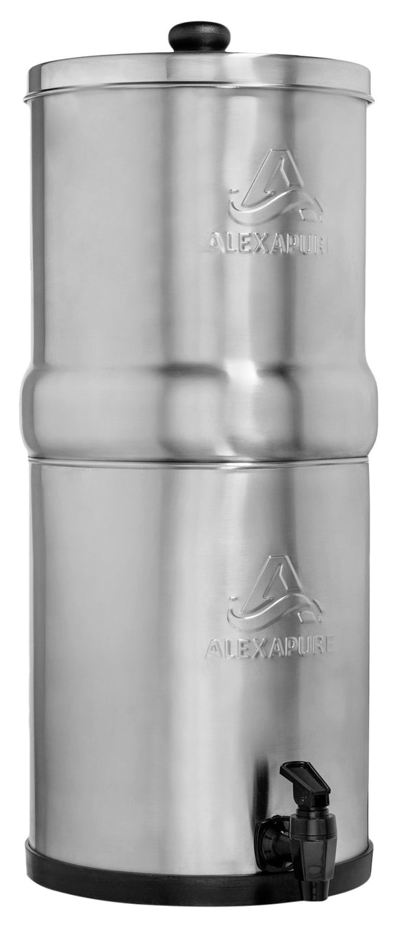 Alexapure Pro Stainless Steel Water Filtration System