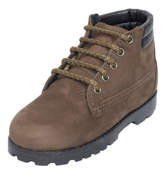 Amilio Toddler's/Kid's Leather Hiker Boot - Indiana