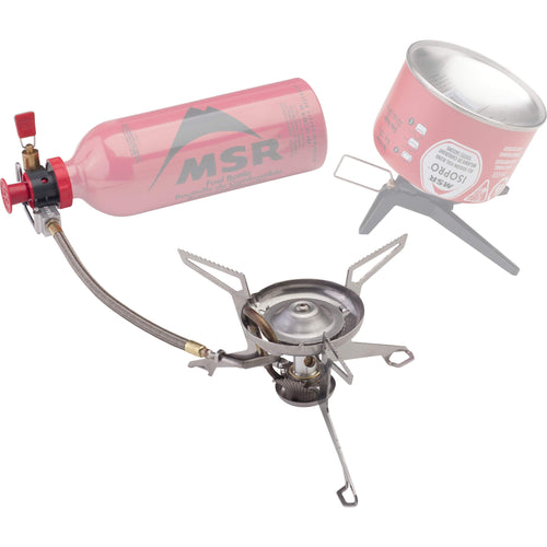MSR WhisperLite Universal Canister and Liquid Fuel Stove