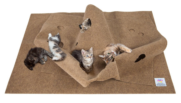 SnugglyCat The Ripple Rug Cat Activity Play Mat