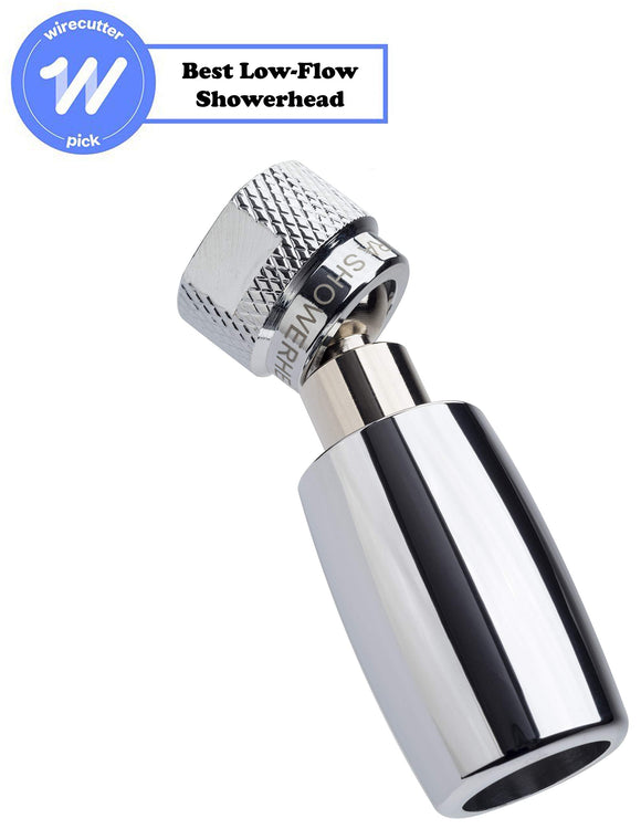 High Sierra's All Metal High Efficiency Low Flow Showerhead