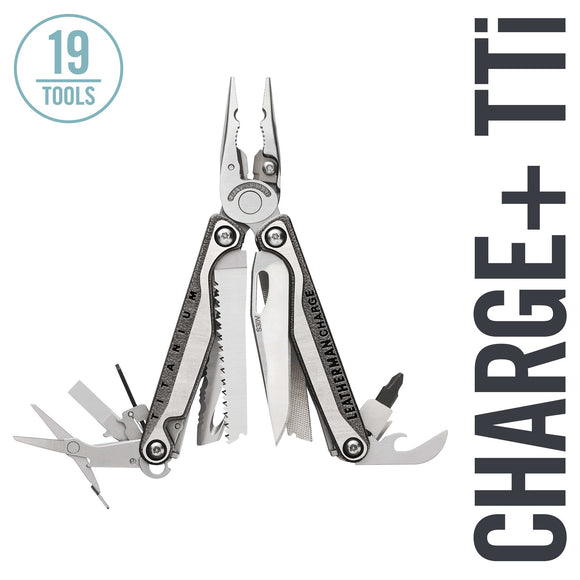 LEATHERMAN - Charge Plus TTi Titanium Multi-Tool