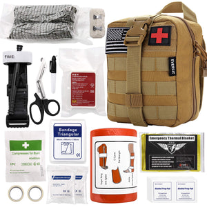 Everlit Emergency Trauma Kit Multi-Purpose for Everyday Carry