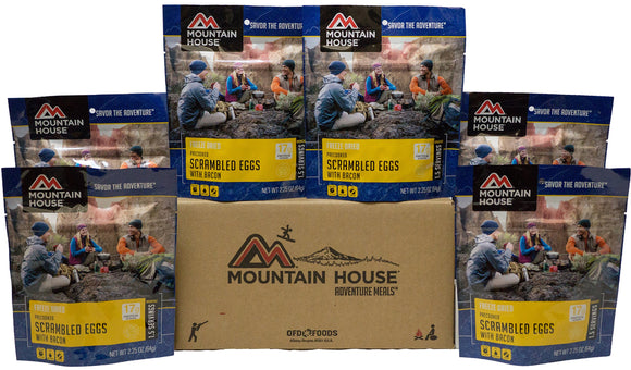 Mountain House Scrambled Eggs with Bacon Premium Case Pack