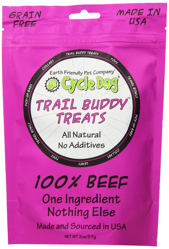 Cycle Dog Trail Buddy Dog Treat - Beef