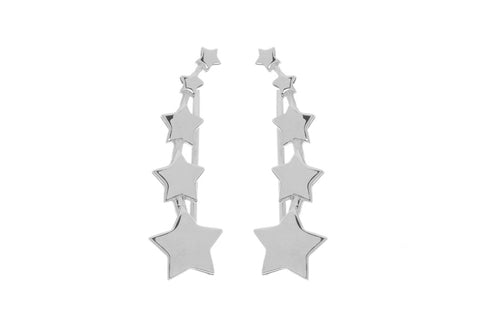 Starstudded Climber Earrings