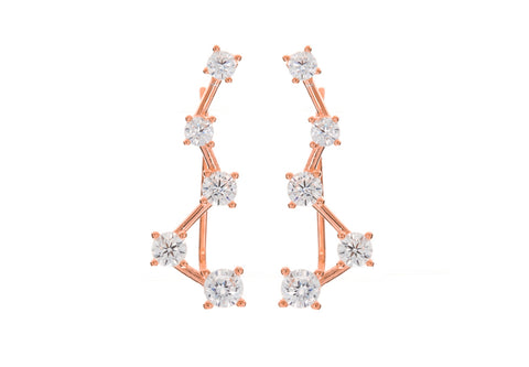 Cassiopeia Climber Earrings