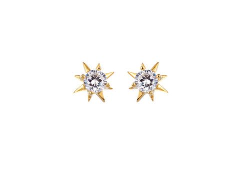 Sun Stud Earrings