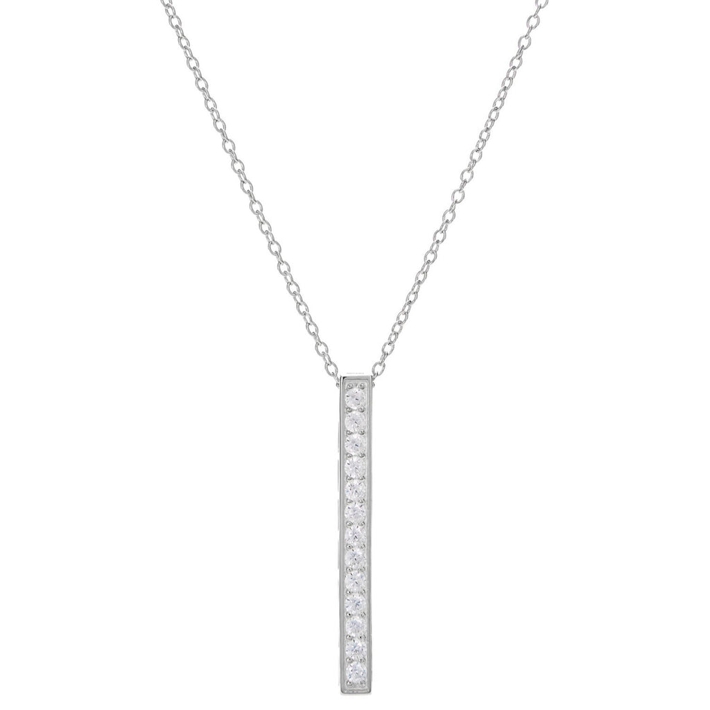 Sparkle Bar Vertical Necklace