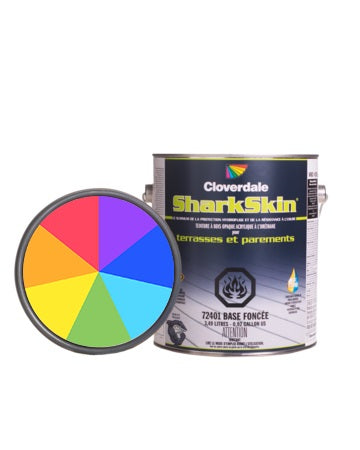 Teinture Sharkskin Opaque 4L Couleur: Ex124