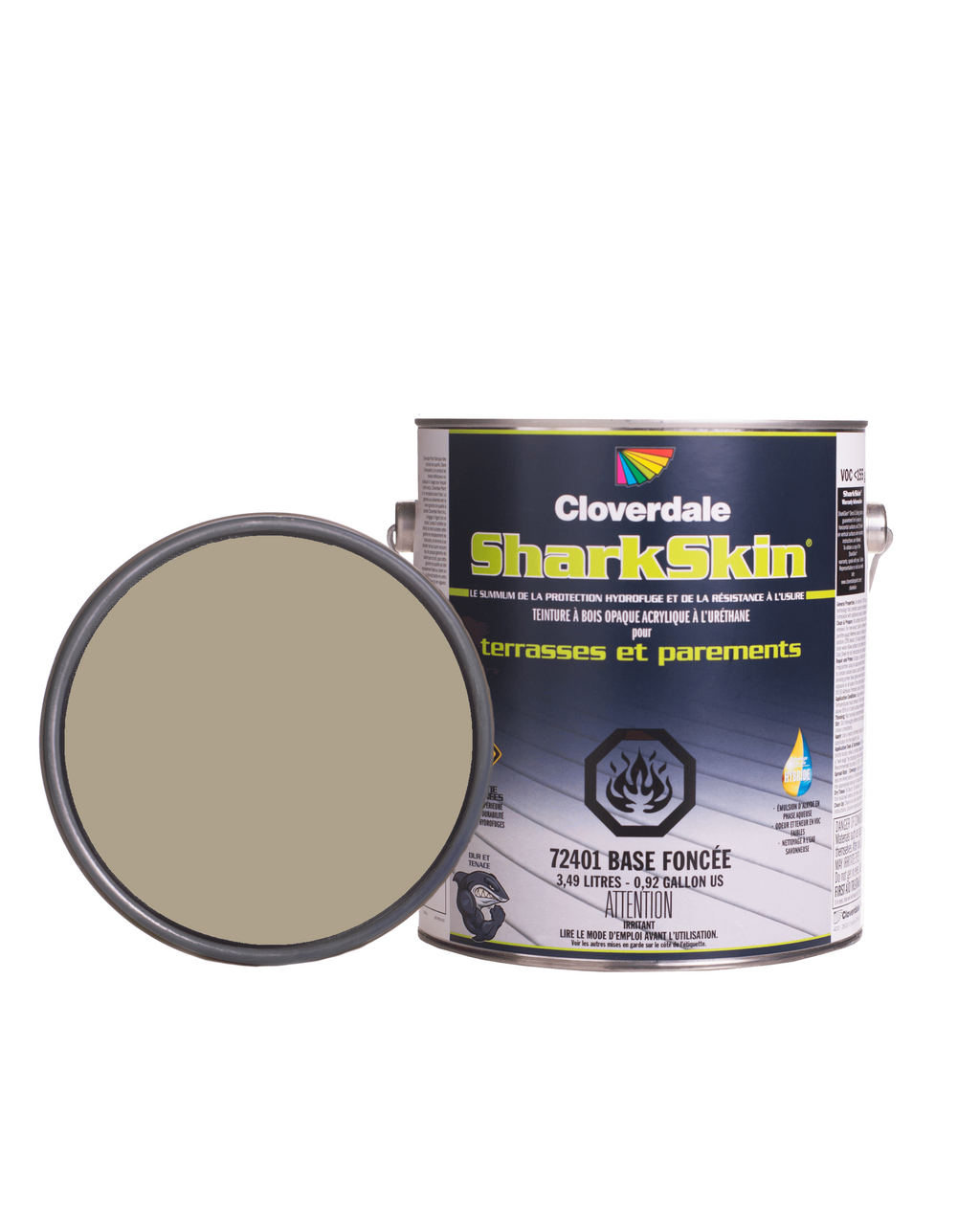 LIQUIDATION Teinture Sharkskin Opaque 4L Couleur: 0337