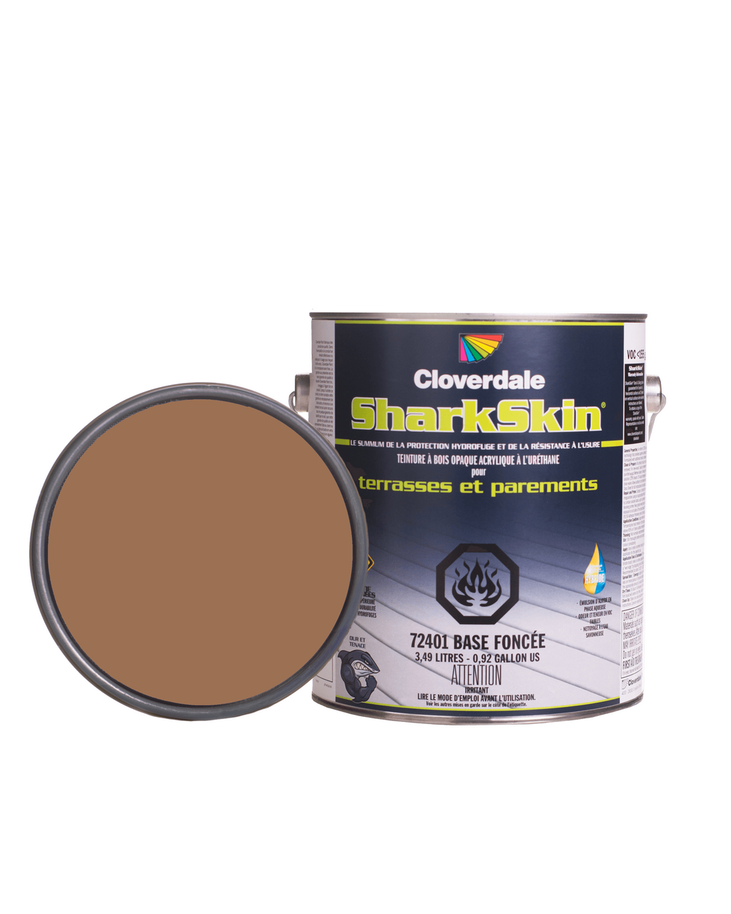 Teinture Sharkskin Opaque 4L Couleur: Ex100