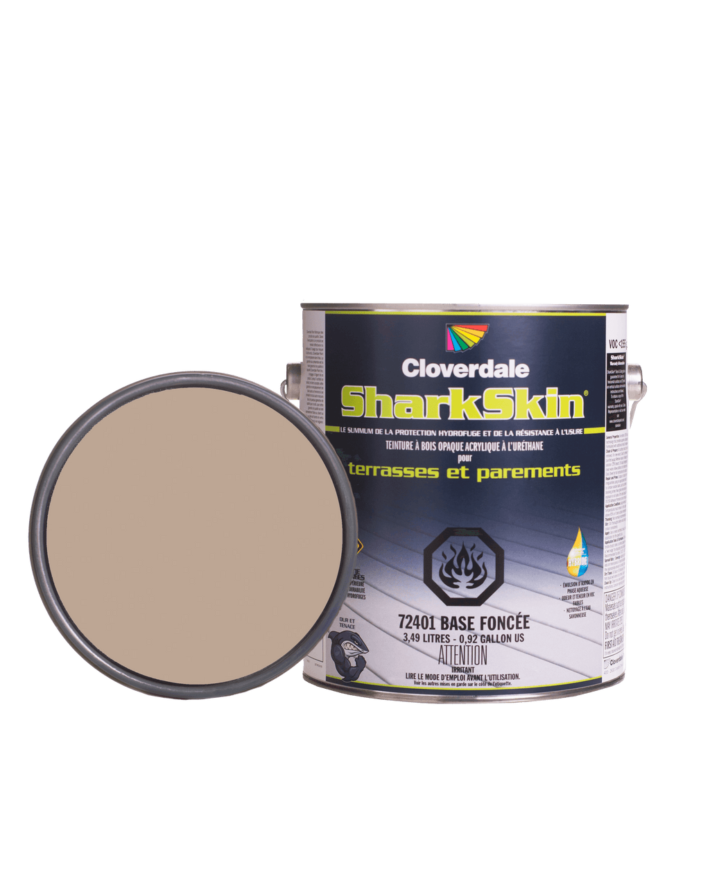 Teinture Sharkskin Opaque 4L Couleur: Ex108