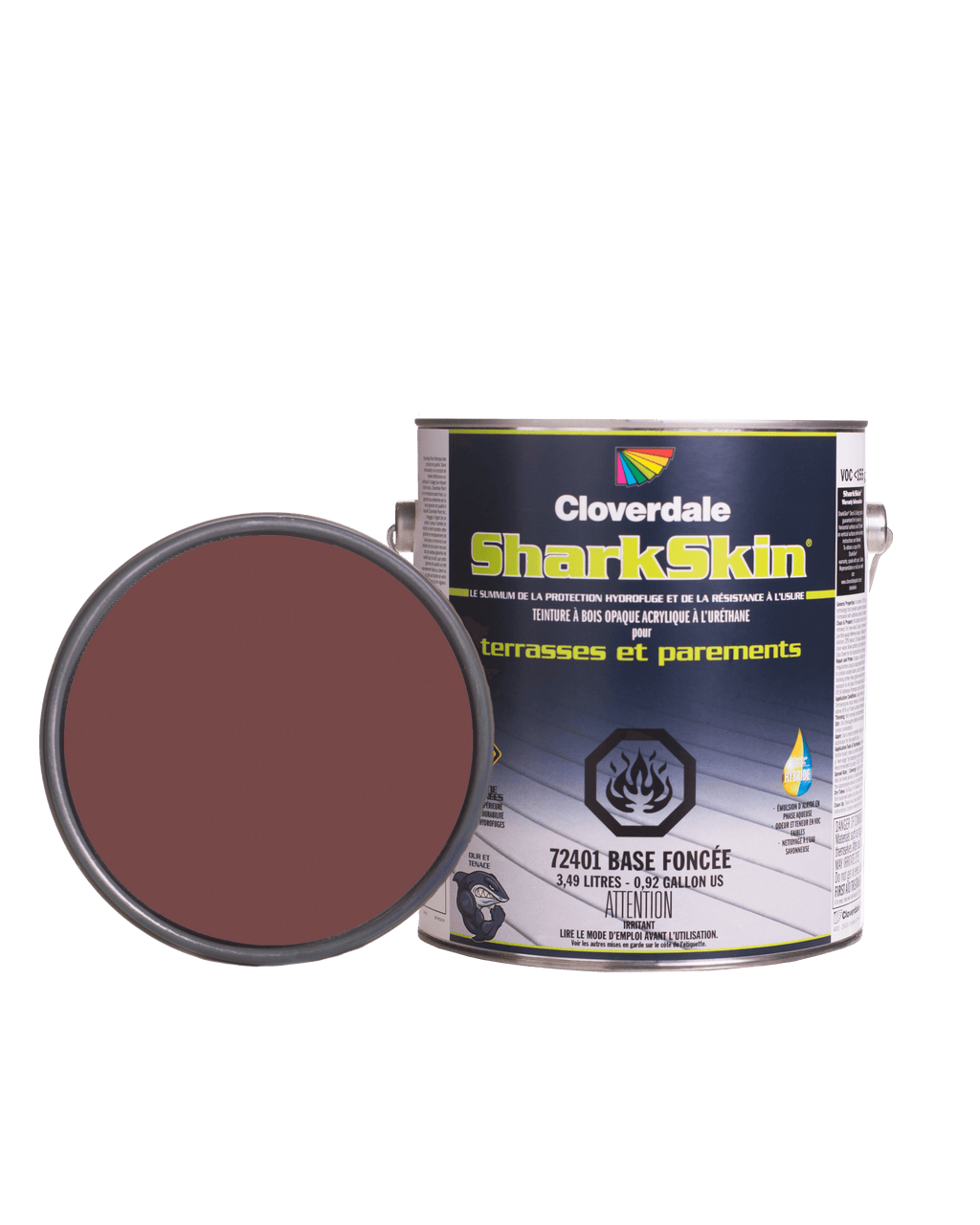 Teinture Sharkskin Opaque 4L Couleur: Ex116