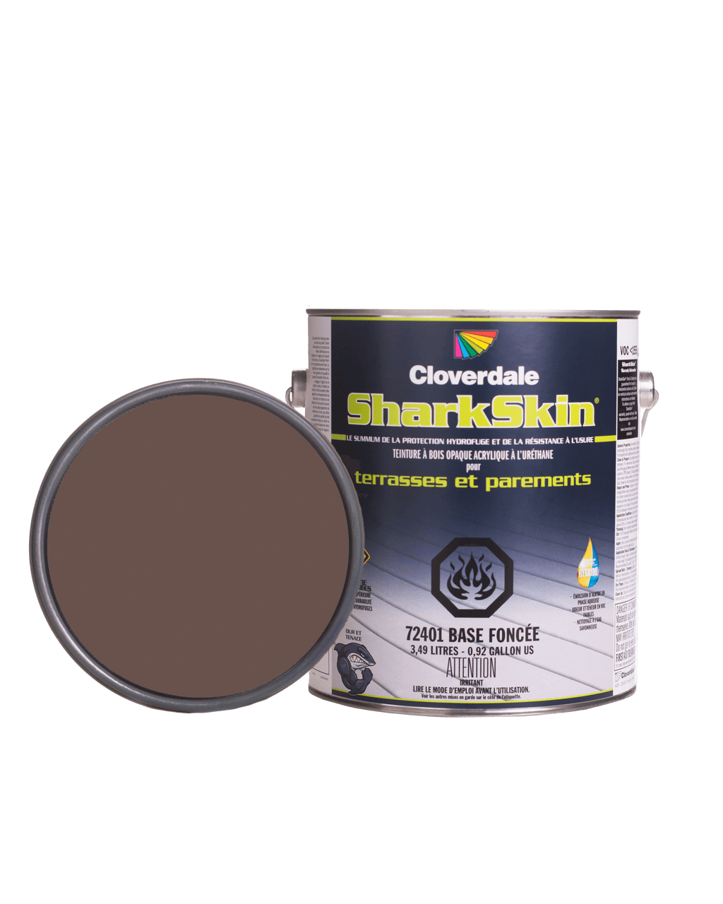 Teinture Sharkskin Opaque 4L Couleur: Ex127