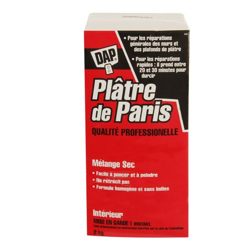 LIQUIDATION Platre de Paris 2kg