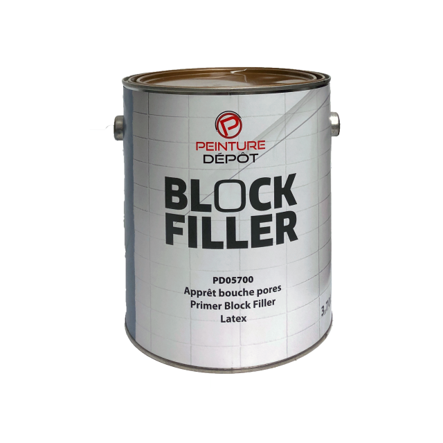 Apprêt Block Filler 4L