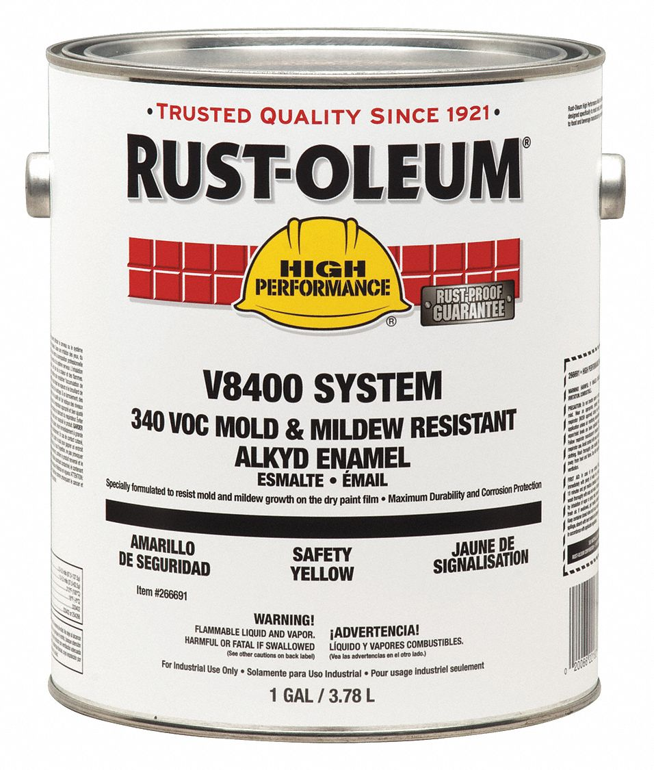 LIQUIDATION Rust-Oleum Alimentaire Alkyde Blanc Gloss V8400