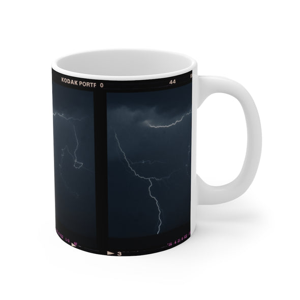 LIGHTNING DURING NIGHT MUG